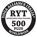 Yoga Alliance® Italia Insegnante Registrata Silver RYT 500 PLUS
